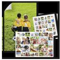 Foto-Poster und Collagen